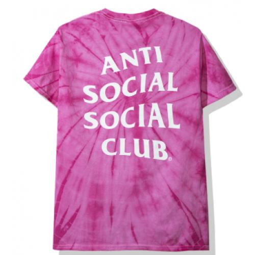 ASSC Pink Tie Die Tee