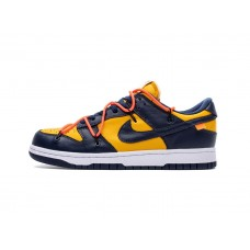 OFF-WHITE X NIKE DUNK LOW MICHIGAN BLUE