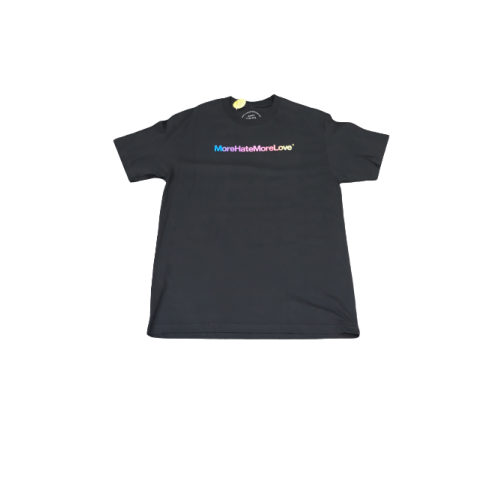 ASSC More Hate More Love Black Tee