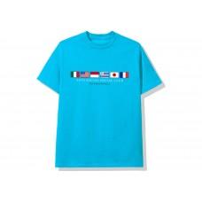 ASSC Ocean Blue Logo Tee