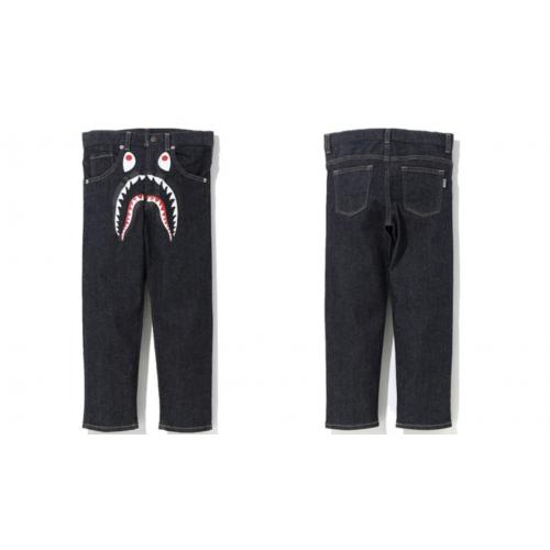 BAPE Shark Denim Jeans 2018