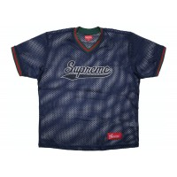 Supreme Mesh Baseball Blue Top