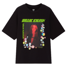 Billie Eilish x Murakami Photo Black Tee