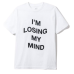 Assc Losin Mind White Tee