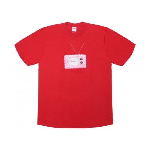 Supreme TV Tee Red