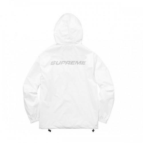 Supreme White WIndbreaker Jacket