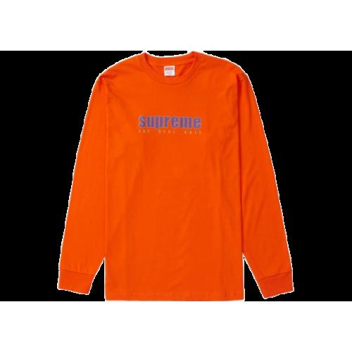 Supreme The Real Shit LS Tee Orange