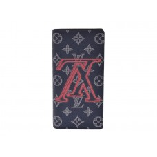 Louis Vuitton Monogram Upside Down Brazza Wallet