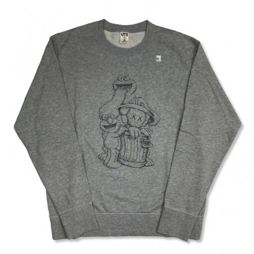 KAWS X SESAME STREET Long Sleeve Sweatshirt