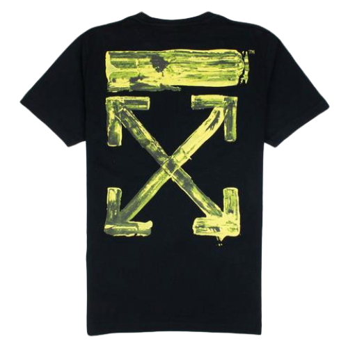 Off-White Acrylic Arrows printed cotton T-shirt