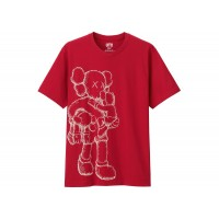 KAWS X UNIQLO SS16 CLEAN SLATE RED