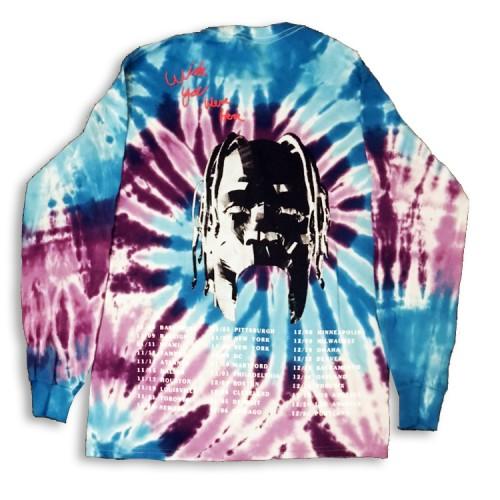 ASTROWORLD Tie Dye T-shirt