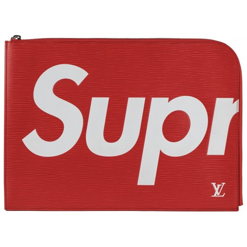 Louis Vuitton x Supreme Laptop Case