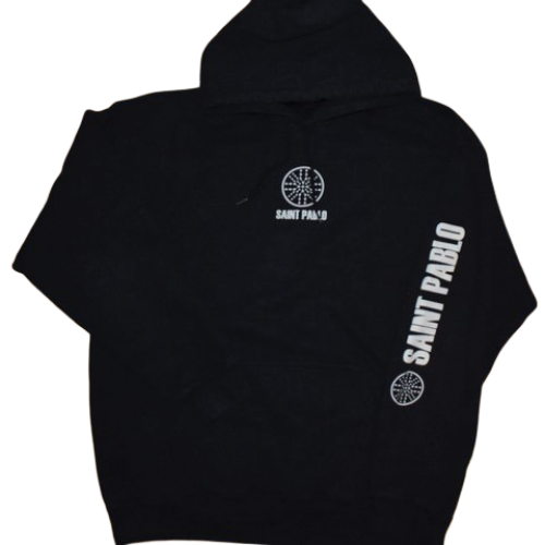 Saint Pablo Tour Merch Hoodie Black