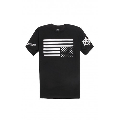 ASAP Ferg Upside Down American Flag Tee