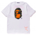 BAPE x Undefeated Sport Is War Ape Head Tee White
