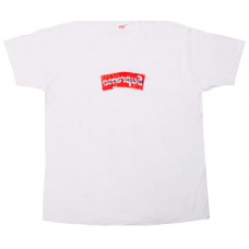 Supreme x CDG Box Logo white
