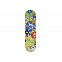 Takashi Murakami ComplexCon Flower Cluster Skateboard Deck Multi