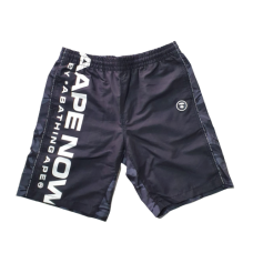 AAPE Camo Shorts Black