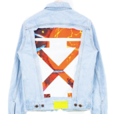 OFF-WHITE Slim Denim Jacket