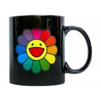 Takashi Murakami ComplexCon Hot/Cold Flower Mug Black