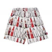Kith x Coca Cola Bottle Print Hardaway Shorts