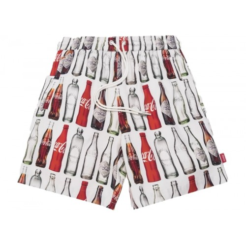 Kith x Coca Cola Bottle Print Hardaway Shorts