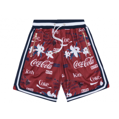 Kith x Coca Cola Basket Ball Red Shorts