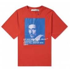 Off White Bernini Tee Red