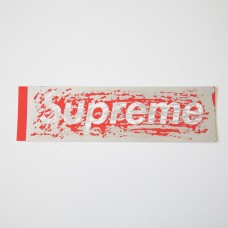 Supreme Scratch Off Box Logo Sticker