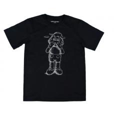 Kaws Holiday JP Sketch Black T