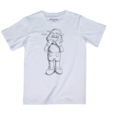 Kaws Holiday JP Sketch White T