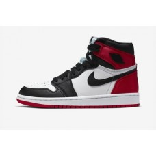 Air Jordan 1 Black Toe Satin Women