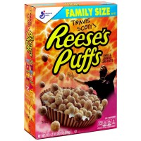 Travis Scott's Reese's Puffs Breakfast Cereal