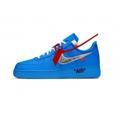 Blue Off-White x Nike AF1