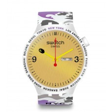 Swatch X Bape New York Watch