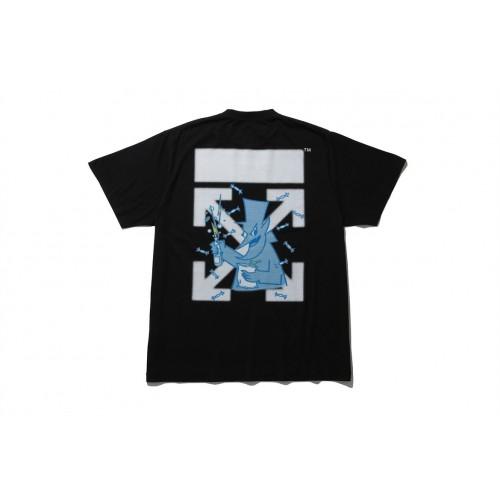 OFF-WHITE x Fragment Design Cereal T-Shirt Black
