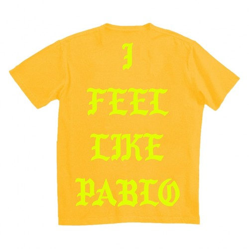 I Feel Like Pablo Kanye T shirt