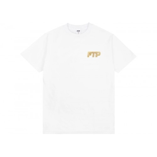 FTP Bling Logo Tee White