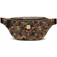 MCM X BAPE Belt Bag Camo