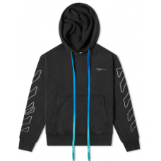 OFF-WHITE ABSTRACT ARROWS SLIM HOODY