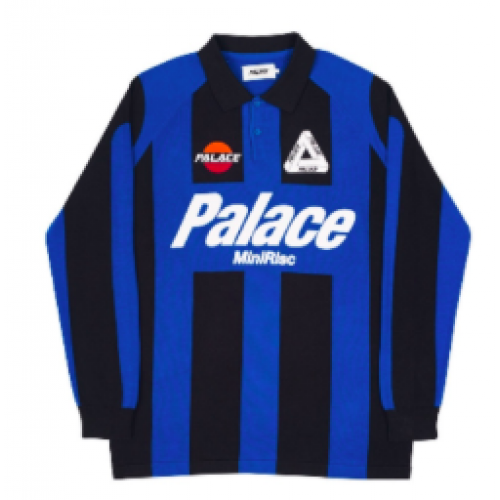 Palace Minirisc Blue Polo Tee