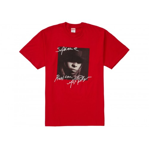 Supreme Mary J Blige Tee Red Tee