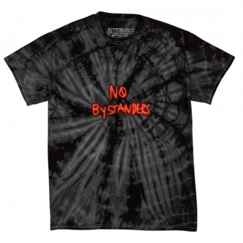 Astroworld Travis Scott No Bystanders Black Tee