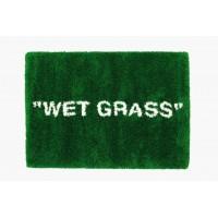 """Ikea X Virgil Abloh """"Wet Grass"""" Rug"""