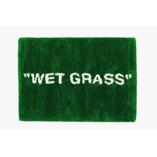 "Ikea X Virgil Abloh ""Wet Grass"" Rug"