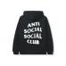 Anti Social Social Club Spiral Hoodie Black