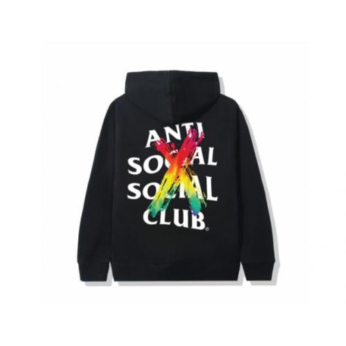 Anti Social Social Club Cancelled Rainbow Hoodie