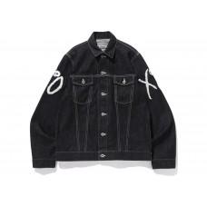 BAPE x XO Denim Jacket Black