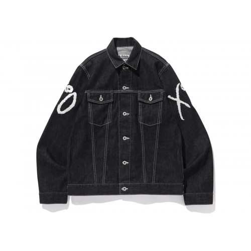 BAPE x XO Denim Jacket Black